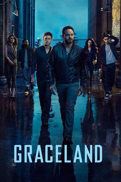 TV ratings for Graceland in Australia. USA Network TV series
