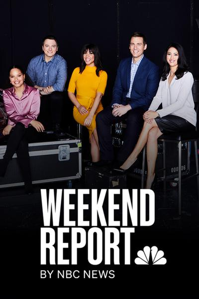 TV ratings for The Weekend Report by NBC News in the United States. Quibi TV series