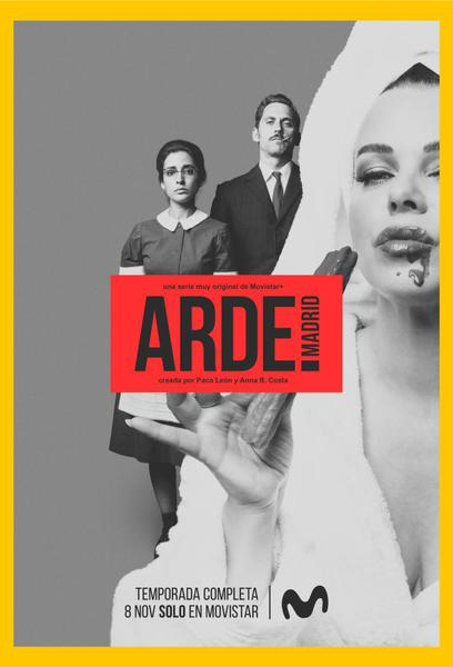 TV ratings for Arde Madrid in the United States. Movistar+ TV series