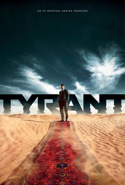 TV ratings for Tyrant in Denmark. FX TV series
