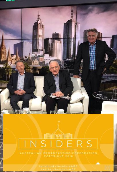 TV ratings for The Insiders in Italy. ABC TV series