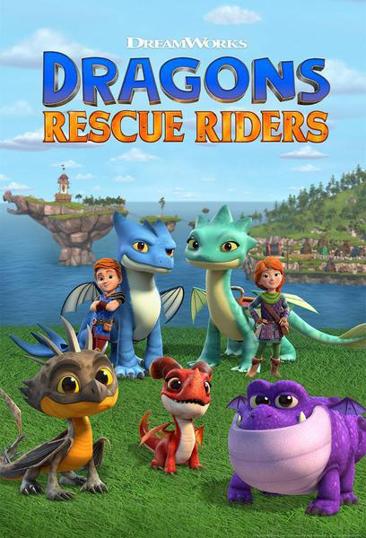 TV ratings for Dragons: Rescue Riders in Colombia. Netflix TV series