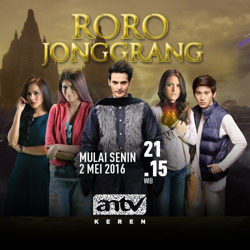 TV ratings for Roro Jonggrang in Australia. ANTV TV series
