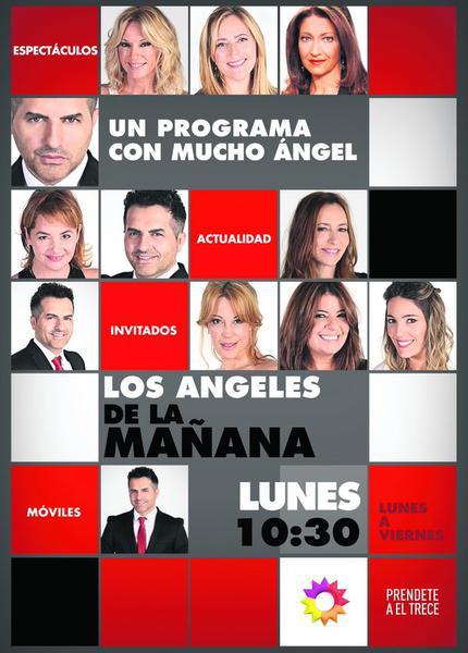 TV ratings for Los Ángeles De La Mañana in Turkey. El Trece TV series