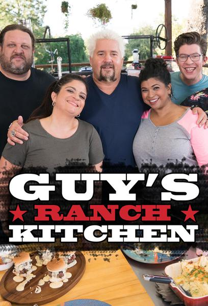 TV ratings for Guy's Ranch Kitchen in the United States. Food Network TV series