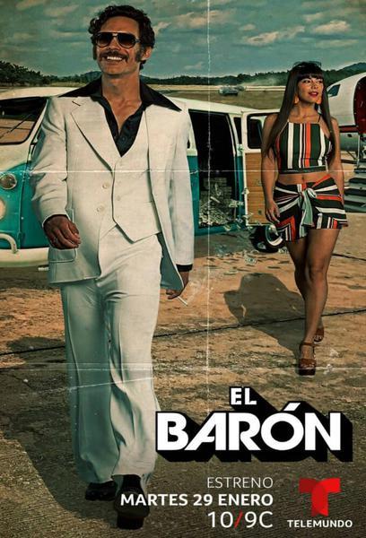 TV ratings for El Barón in Brazil. Telemundo TV series