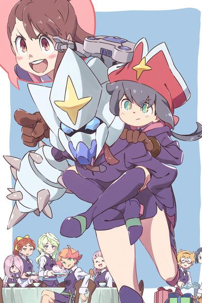 TV ratings for Little Witch Academia in Colombia. Tokyo MX TV series