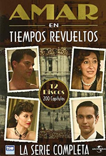 TV ratings for Amar En Tiempos Revueltos in the United States. La 1 TV series