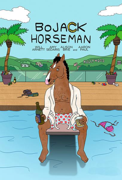 TV ratings for BoJack Horseman in New Zealand. Netflix TV series