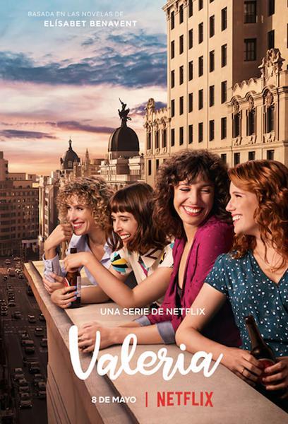 TV ratings for Valeria (2020) in Spain. Netflix TV series