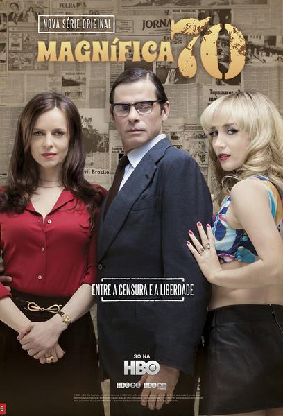 TV ratings for Magnífica 70 in Brazil. HBO Brasil TV series