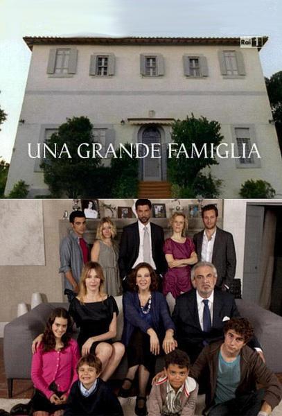 TV ratings for Una Grande Famiglia in the United States. Rai 1 TV series