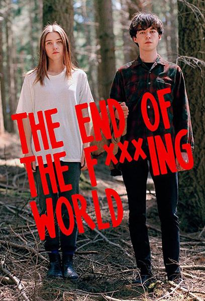 TV ratings for The End of the F...ing World in Colombia. Netflix TV series