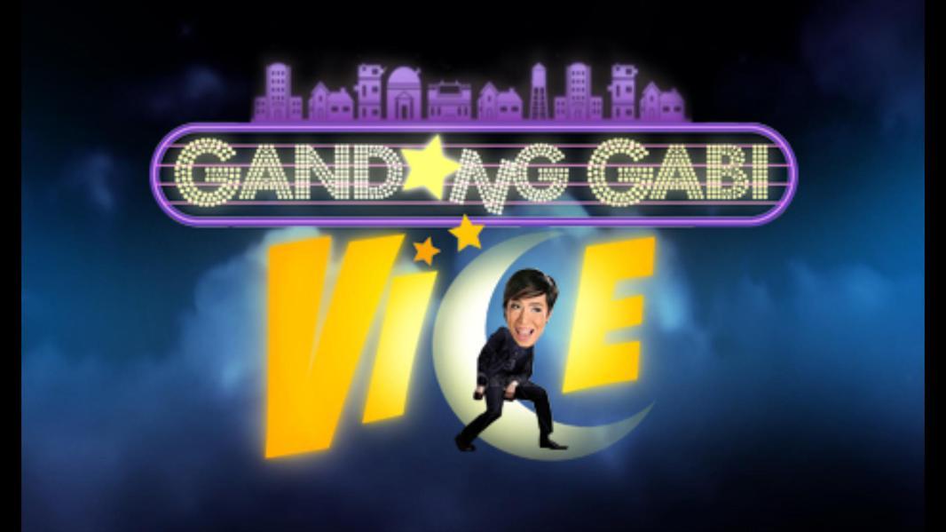TV ratings for Gandang gabi Vice in Italy. ABS-CBN TV series