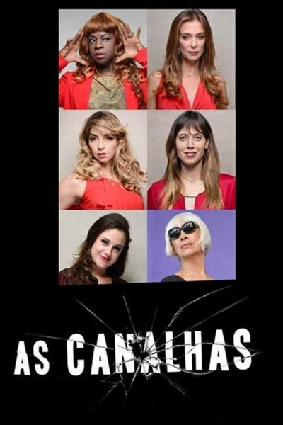 TV ratings for As Canalhas in the United States. GNT TV series