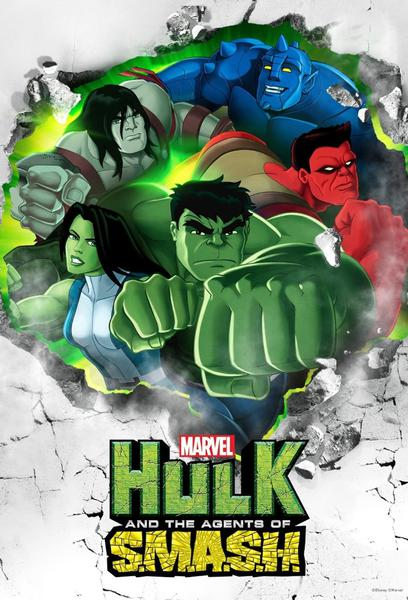 TV ratings for Marvel's Hulk And The Agents Of S.M.A.S.H. in the United States. Disney XD TV series