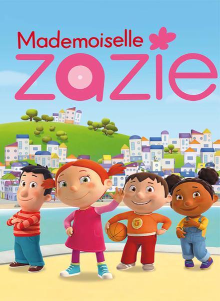 TV ratings for Mademoiselle Zazie in Denmark. France 5 TV series