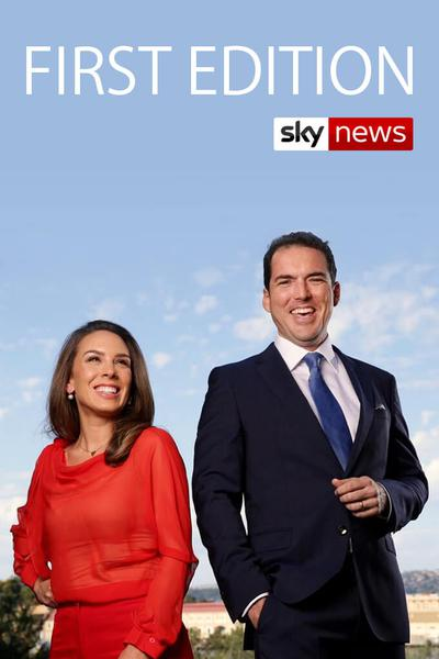 TV ratings for First Edition in Ireland. Sky News Australia TV series