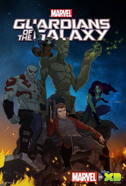 TV ratings for Marvel's Guardians Of The Galaxy in South Korea. Disney XD TV series