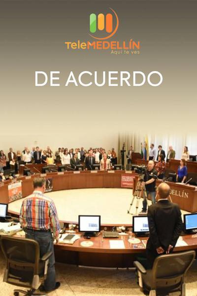 TV ratings for De Acuerdo in Portugal. Telemedellín TV series