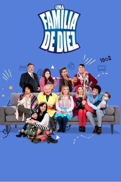 TV ratings for Una Familia de Diez in Mexico. Las Estrellas TV series