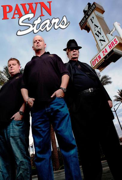 TV ratings for Pawn Stars in India. History TV series