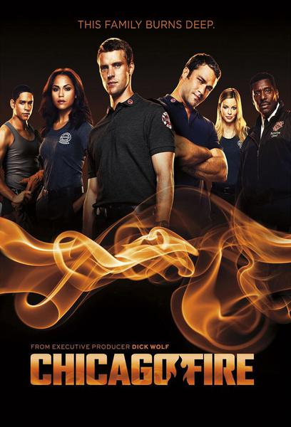 TV ratings for Chicago Fire in Chile. NBC TV series