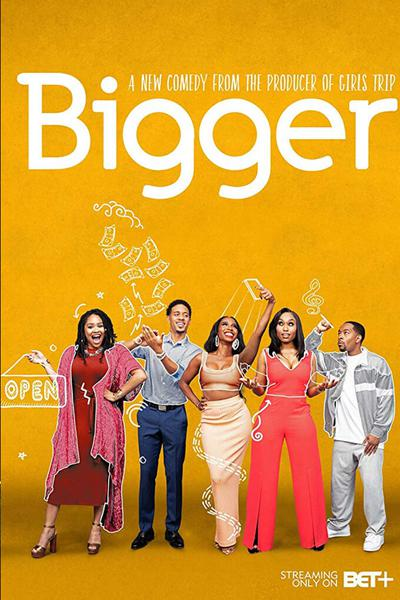TV ratings for Bigger in the United Kingdom. BET+ TV series
