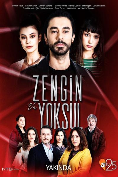 TV ratings for Zengin Ve Yoksul in Norway. ATV TV series