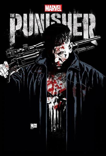 TV ratings for Marvel's The Punisher in South Korea. Netflix TV series
