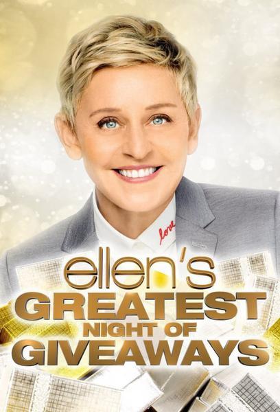 TV ratings for Ellen's Greatest Night Of Giveaways in Australia. NBC TV series