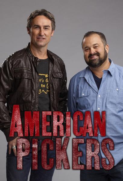 TV ratings for American Pickers in Spain. History TV series