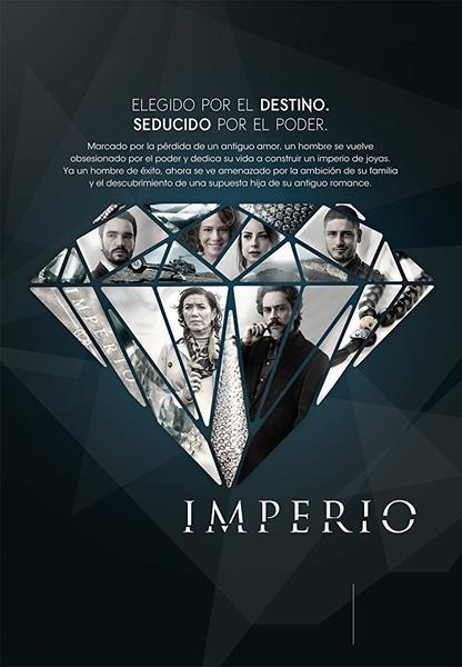TV ratings for Império in Brazil. Rede Globo TV series