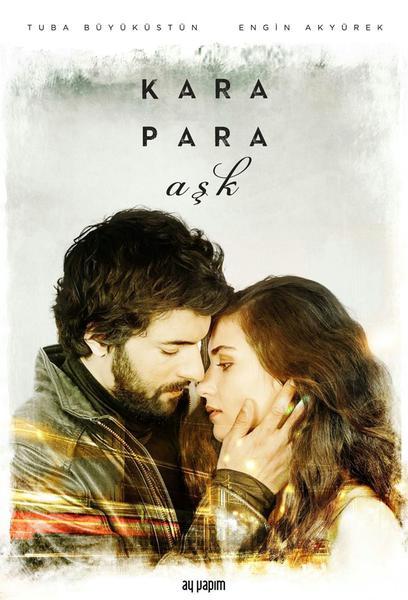 TV ratings for Kara Para Aşk in Russia. ATV TV series