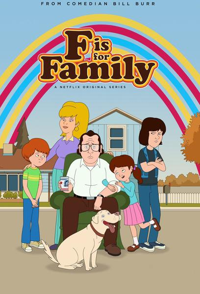 TV ratings for F Is For Family in the United States. Netflix TV series