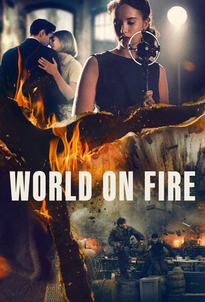 TV ratings for World On Fire in Denmark. BBC One TV series