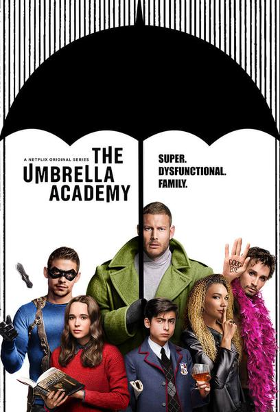 TV ratings for The Umbrella Academy in India. Netflix TV series