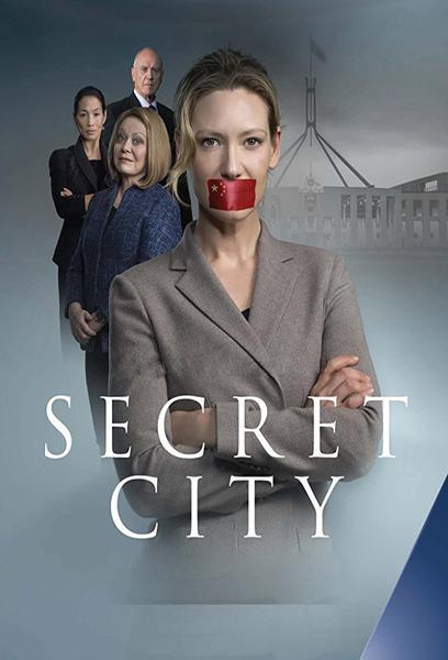 TV ratings for Secret City in Brazil. Showcase Australia TV series