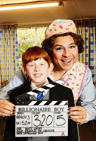 TV ratings for Billionaire Boy in Italy. BBC TV series