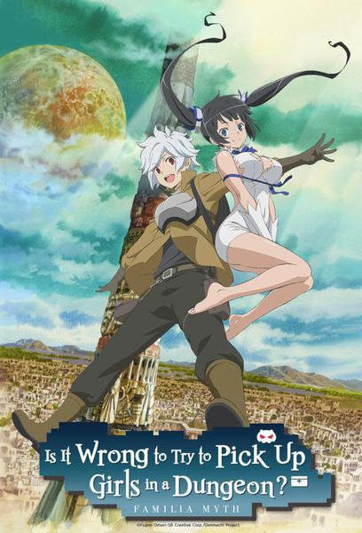 TV ratings for Is It Wrong To Try To Pick Up Girls In A Dungeon? (ダンジョンに出会いを求めるのは間違っているだろうか) in Germany. Tokyo MX TV series