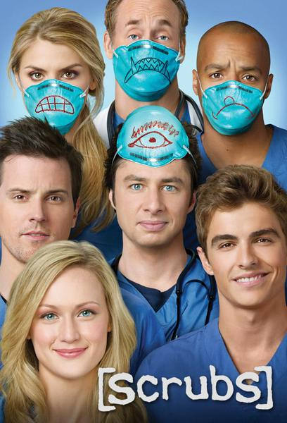 TV ratings for Scrubs in Germany. NBC TV series
