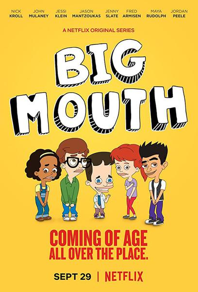TV ratings for Big Mouth in Sweden. Netflix TV series