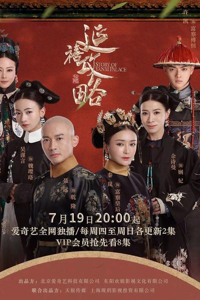 TV ratings for Story Of Yanxi Palace in France. iQIYI TV series
