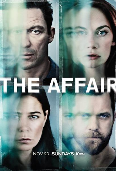 TV ratings for The Affair in Argentina. Showtime TV series