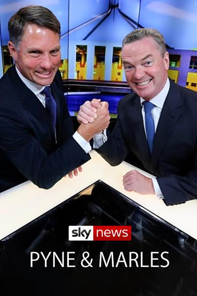 TV ratings for Pyne & Marles in Germany. Sky News Australia TV series