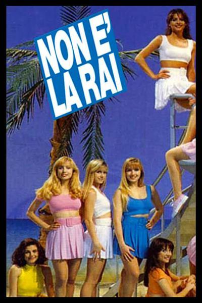 TV ratings for Non È La Rai in Brazil. Canale 5 TV series