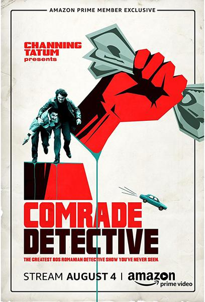 TV ratings for Comrade Detective in Sweden. Amazon Prime Video TV series