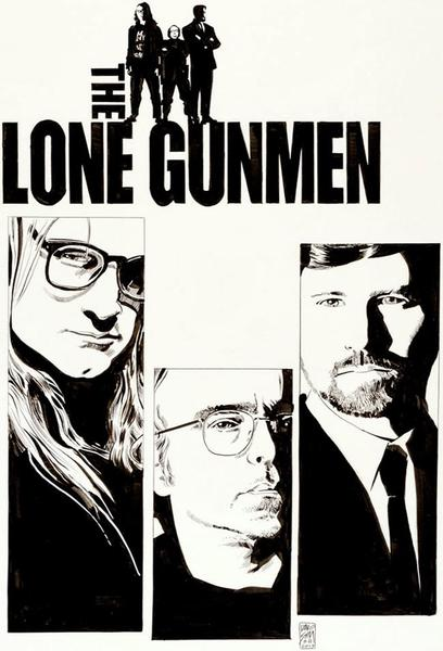 TV ratings for The Lone Gunmen in Spain. FOX TV series