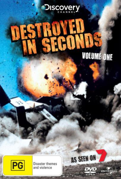 TV ratings for Destroyed In Seconds in Russia. Discovery Channel TV series