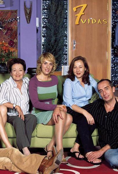 TV ratings for 7 Vidas in Spain. Telecinco TV series